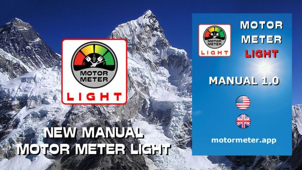 New Manual Motor Meter Light